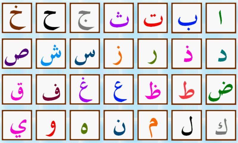 L alphabet arabe apprendrelarabe - Alphabet arabe a imprimer ...